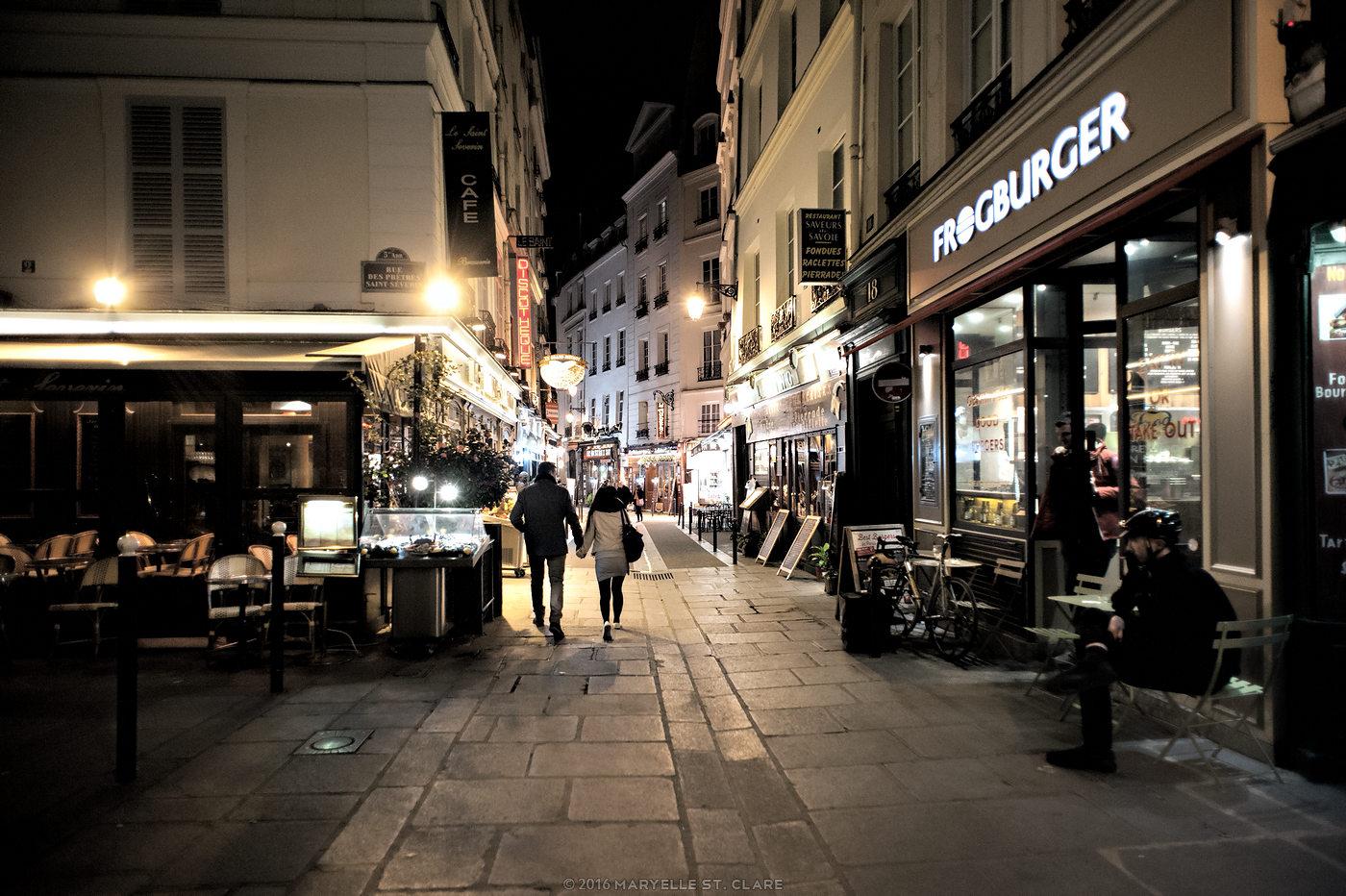 Paris, France, 2016. Left Bank.