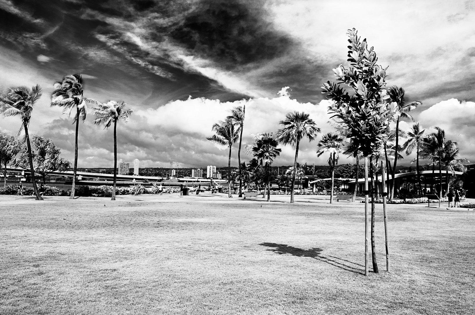 Arizona Memorial. Pearl Harbor, Honolulu, Hawaii. 11 Nov 2011.