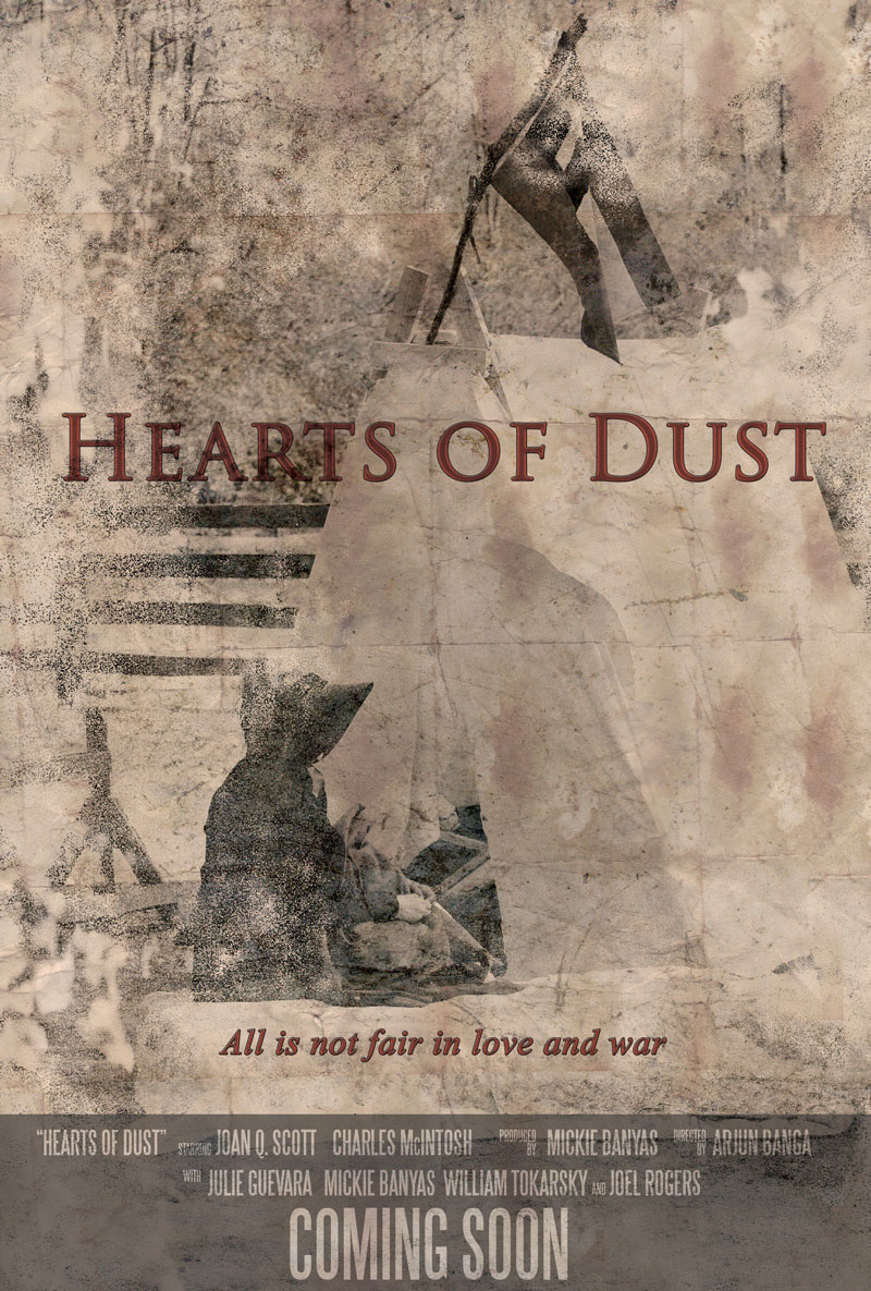 """movie poster """"coming soon"""" Hearts of Dust"""